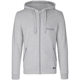 GripGrab Icon LS Organic Cotton Zipper Hoodie grey